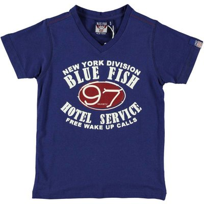 Blue Fish shirt Jim navy