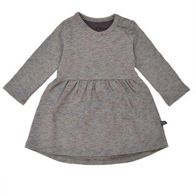 nOeser supersoft jurkje taupe grey melee stripe