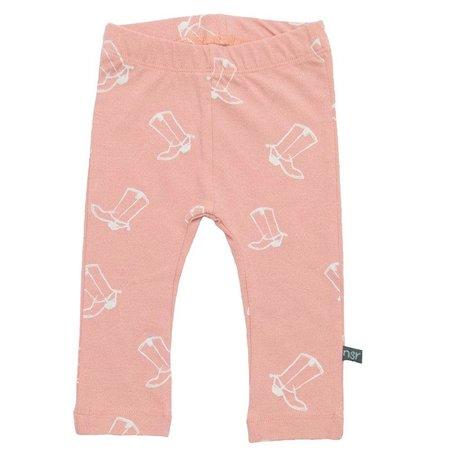 nOeser broekje Cowboyboots peach pink