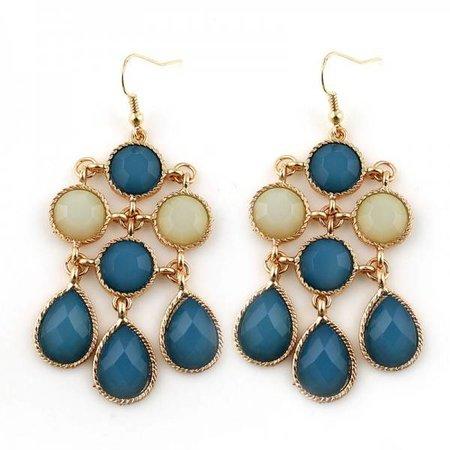 oorbellen Blue Jewels