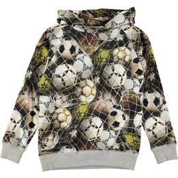 Molo voetbal sweater Russel Ball net