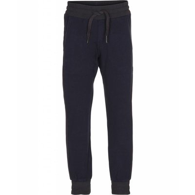 Molo joggingbroek Ais dark navy met piping