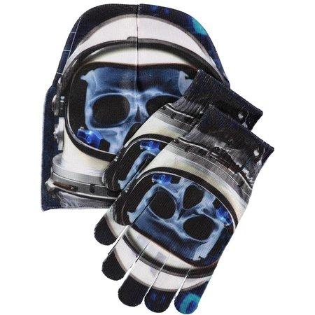 Molo muts + handschoenen X-Ray cyber space