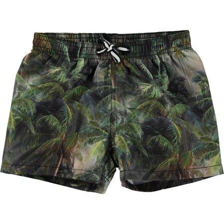 Molo jongens zwemshort Niko Camo Palms Jungle