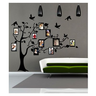 Coart velours muursticker Lovely Family 1