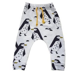 Roos & Tijn Design soft stretch broekje pinguins