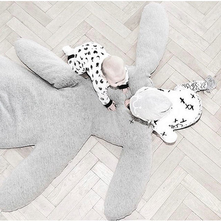 Cindysign XXL knuffel kussen nero 168 cm