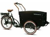Bakfietsweb E-bakfiets driewieler 6speed zwart