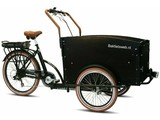 Bakfietsweb E-tricycle tricycle 7 vitesses brun