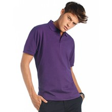 B&C Collection Polo Heavymill / Unisex Wit