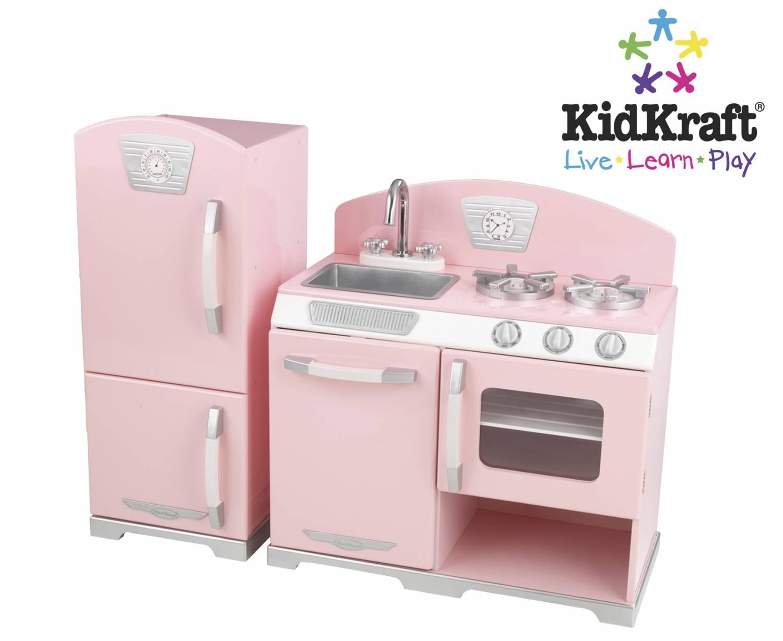 Kidkraft Keuken Vintage : Kidkraft Pink Retro keuken – babee.nl