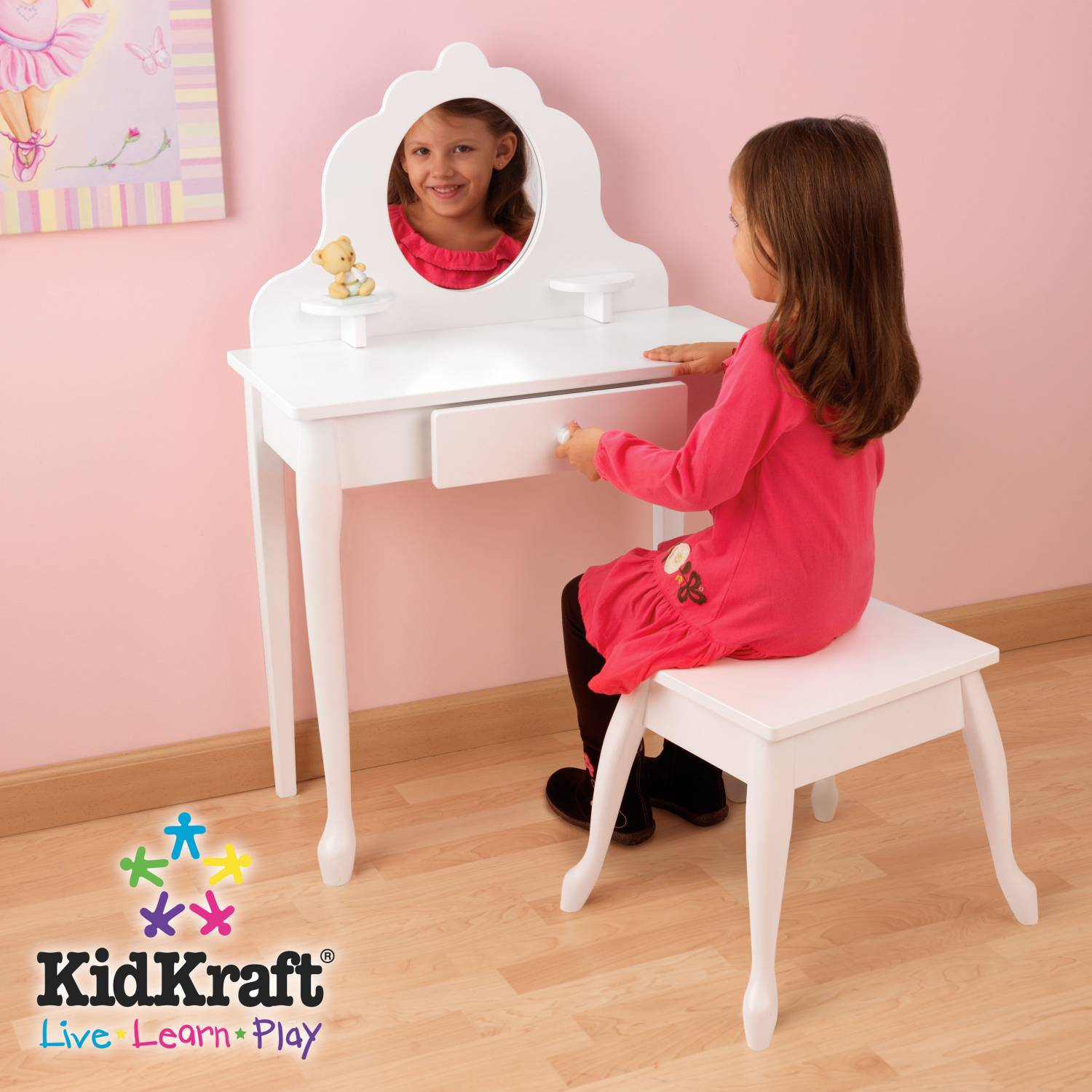 kidkraft kaptafel kidkraft. Black Bedroom Furniture Sets. Home Design Ideas