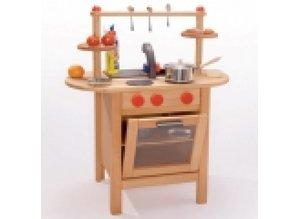 Houten Speelgoed Keuken : Fagus houten speelgoed keuken fagus babee