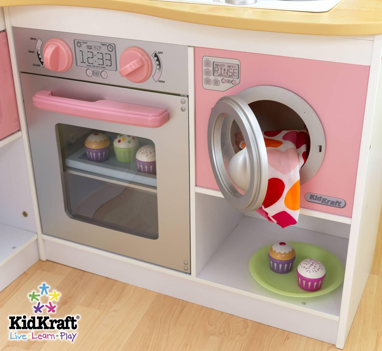 Houten Speelgoed Keuken Tweedehands : Kidkraft Grand gourmet hoekkeuken – babee.nl