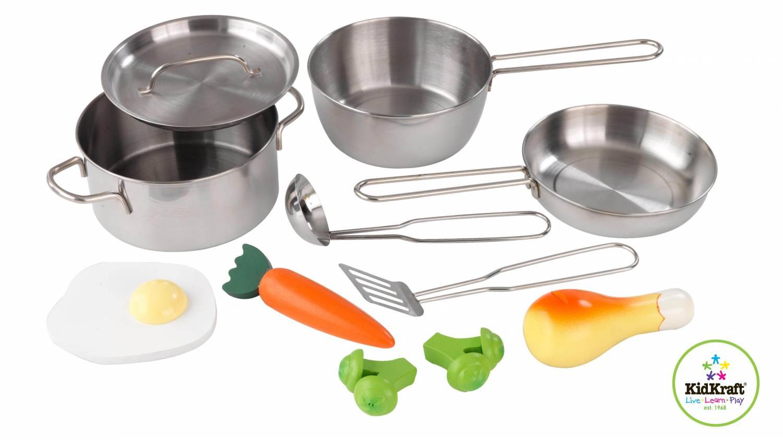 Kidkraft Keuken Onderdelen : Kidkraft Metalen accessoires keuken – babee.nl