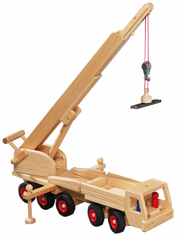 fagus houten speelgoed fagus mobile kraan