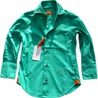 JAN VAN TRIER SHIRT WILLIAM AQUA