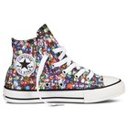CONVERSE ALL STAR PHOTO PRINT HI TEXT MULTI 642476C PAILLET