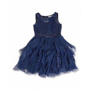 BLUE SEVEN TEENS JURK MET PAILLETJES VAN BLUE SEVEN 73308X