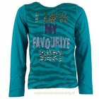 BLUE SEVEN KIDS longsleeve animal print groen