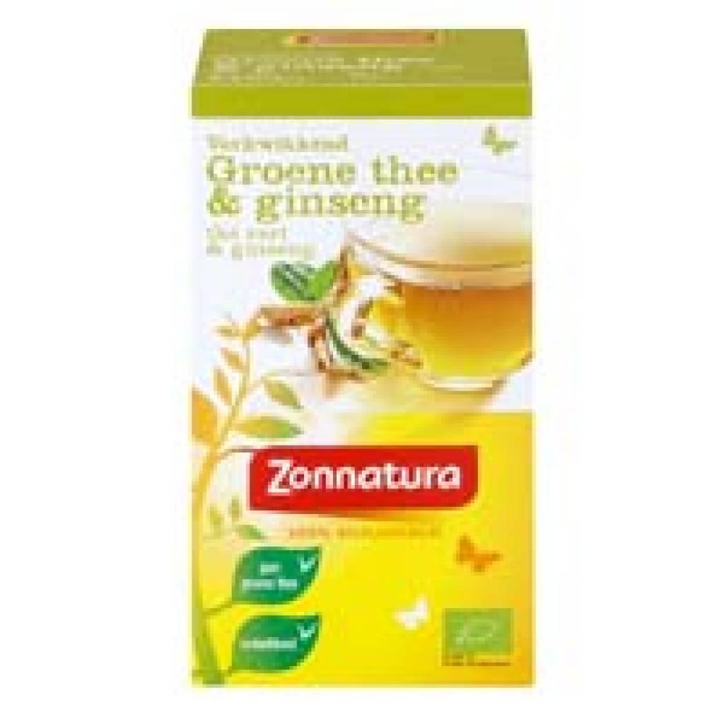 Groene thee met ginseng