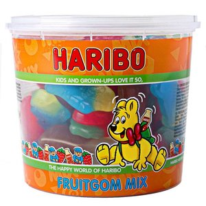 Haribo Fruitgom mix silo