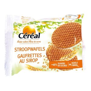 Cereal Stroopwafels (suikerarm)