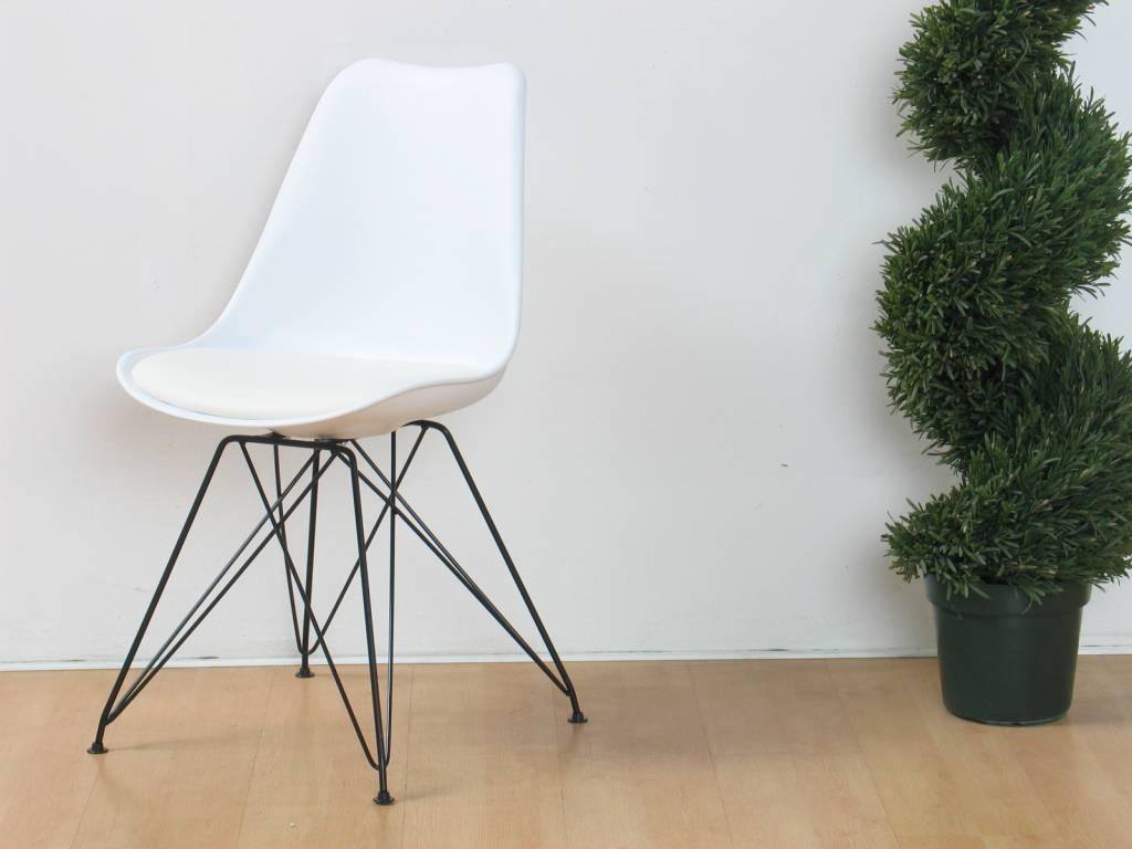 Design stoel wit Council   Meubeltrefpunt   Altijd thuis