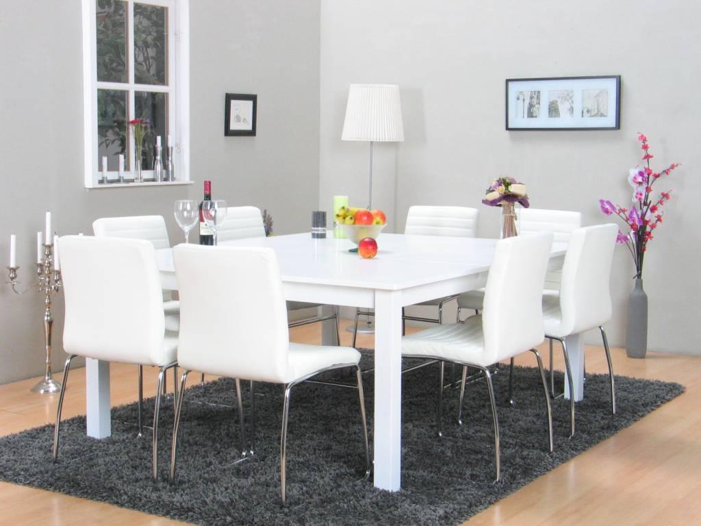 Eetkamer Met Vierkante Tafel.Vierkante Eettafel Ikea
