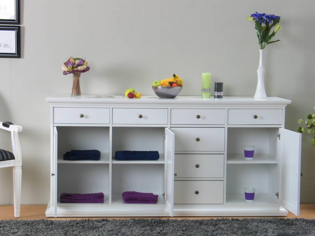 Landelijk wit dressoir venetie for Dressoir slaapkamer