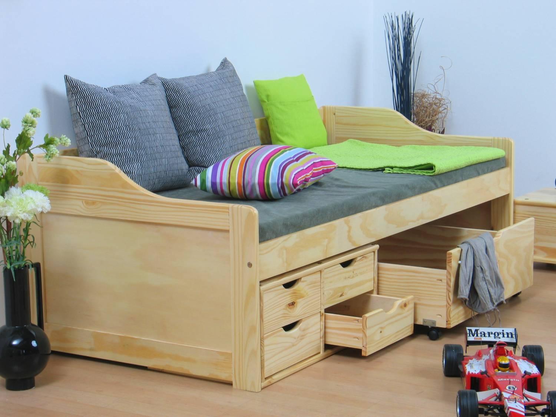 Eenpersoonsbed met opbergruimte - Tiener met opbergruimte ...