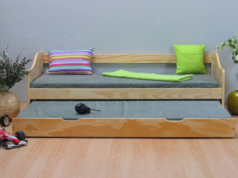 Kinderbed massief grenen met onderschuifbed meubeltrefpunt altijd thuis - Modern kinderbed ...