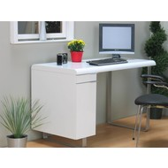 Bureau wit hoogglans Boston 120x75