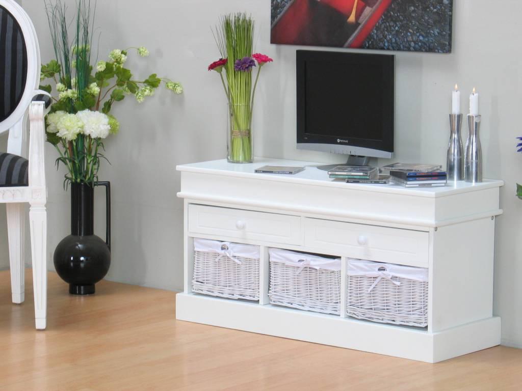 Tv meubel welkom wit mdf meubeltrefpunt altijd thuis - Witte meubels en rode ...