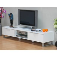 TV dressoir Toronto design wit hoogglans 180 cm