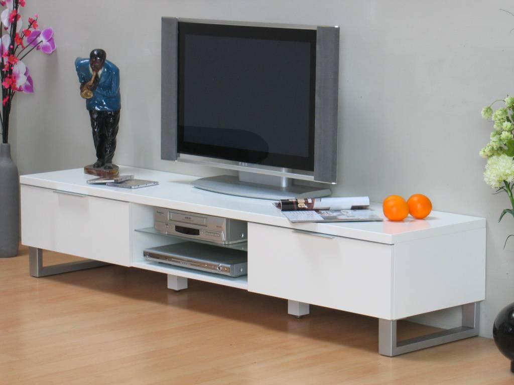 #87644423620092 TV Dressoir Toronto Design Wit Hoogglans 180 Cm Meubeltrefpunt  Meest effectief Design Meubelwinkel Belgie 2665 behang 10247682665 afbeeldingen