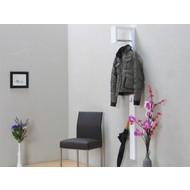 Wandkapstok wit hoogglans Casa design met beugel