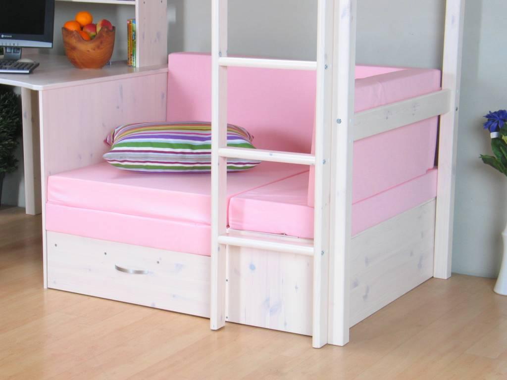 Hoogslaper Met Kast En Bureau Ikea : Halfhoogslaper met bureau bonny productbeschrijving youtube