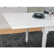 Voor tafel Mozart wit aansteekplaat