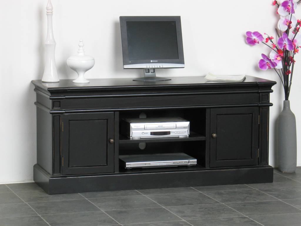 TV-meubel zwart Mozart - Meubeltrefpunt : Altijd thuis
