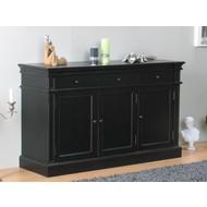 Mozart sideboard zwart antiek dressoir