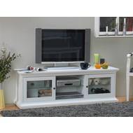 TV meubel landelijk wit Venetie 150x42 cm