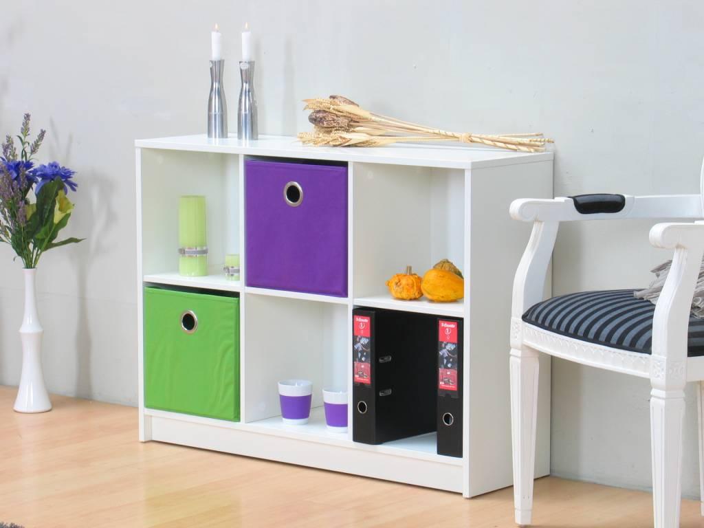 Goedkope Keuken Opbergkast : Opbergkast wit Combee met zes vakken – Meubeltrefpunt Altijd thuis