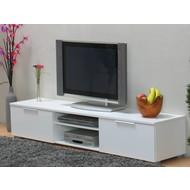 TV kast laag wit hoogglans Bergamo