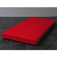 Binnenveringsmatras voor tienerbed Bonell kwaliteit rood