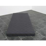 Kindermatras polyether grijs 90x200