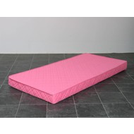 Kindermatras polyether roze 90x200