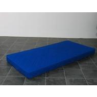 Kindermatras polyether blauw 90x200