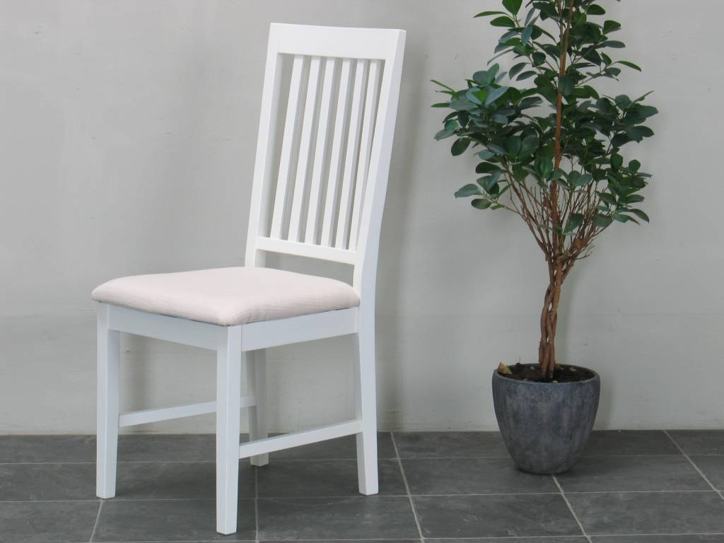 Eetkamerstoel landelijk wit venetie - Moderne eetkamerstoel eetkamer ...
