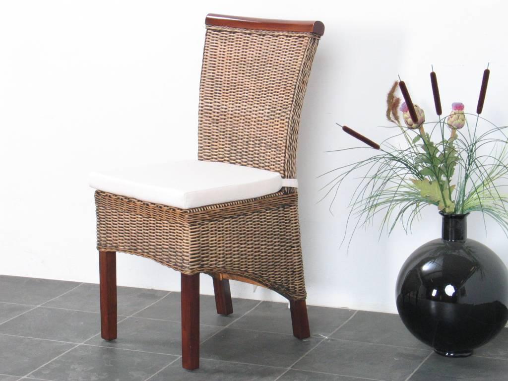 Kussen voor rotan fauteuil